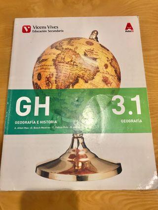 Libro Geografía e Historia 3.1