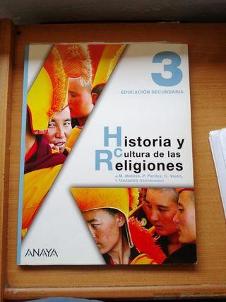 libro de 3 ESO HISTORIA Y CULTURA DE LAS RELIGIONE