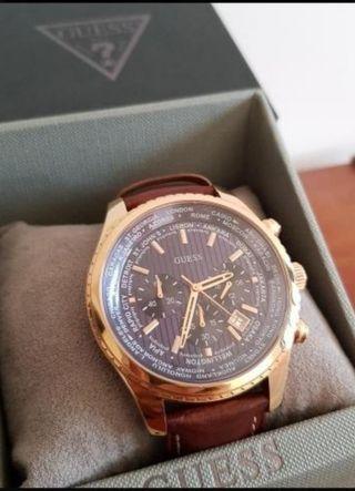 Reloj hombre de lujo. Guess