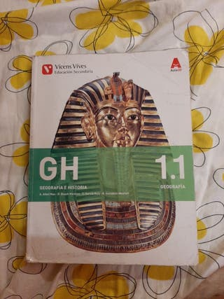 libros de geografía e historia de 1°eso