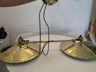 lámpara techo billar