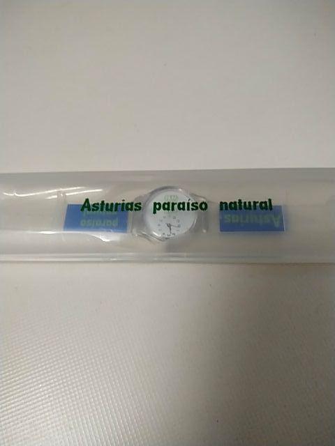 """Reloj """"Asturias, paraíso natural"""""""