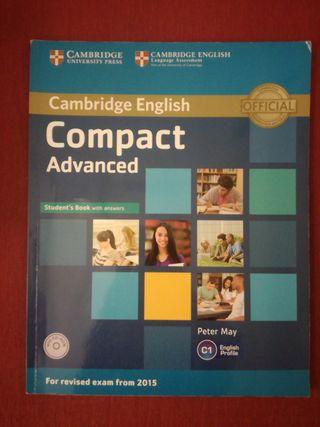 Libro nivel C1 de Inglés. Compact Advanced.