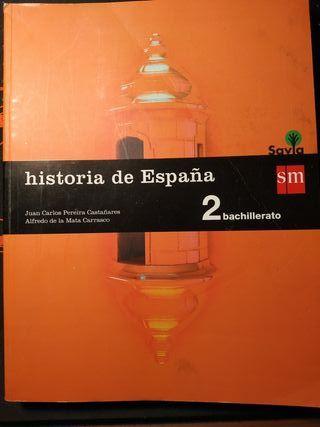 libro historia 2 bachillerato