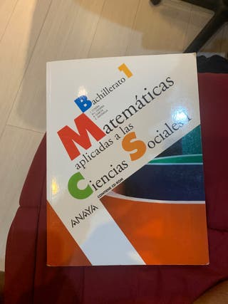 Libro matemáticas aplicadas a las ciencias social