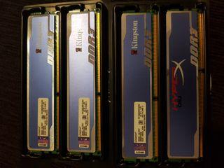 DDR3 4RAM C/U Total 8RAM