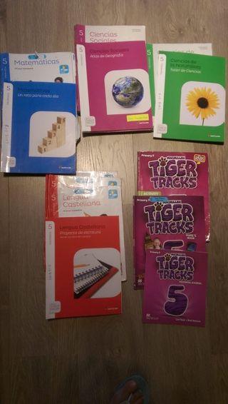 Libros de texto 5° Primaria