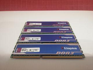 Pack 4 RAM Kingston HyperX Blue 8GB (4 x 2GB)