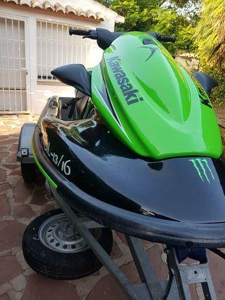 kawasaki stx15f moto agua