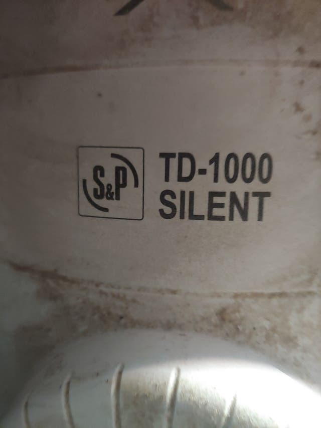 Extractor industrial S&P TD-1000 Silent