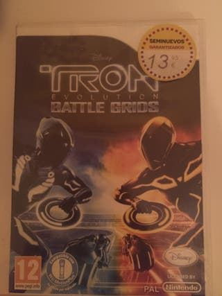 videojuego Tron para Wii