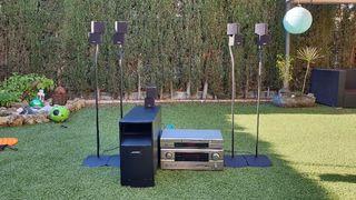equipo de sonido DENNON BOSE AVR-2105 HOME CINEMA