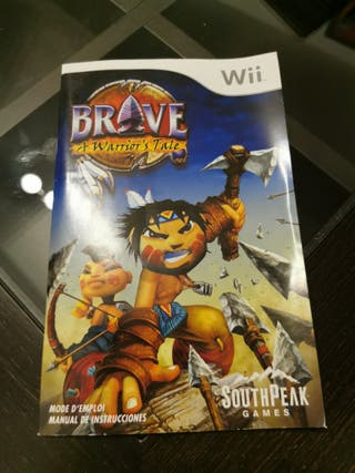 Manual Brave A Warrior's tale Wii