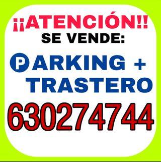 SE VENDE PARKING + TRASTERO