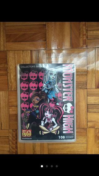 Álbum foto-postales Monster High