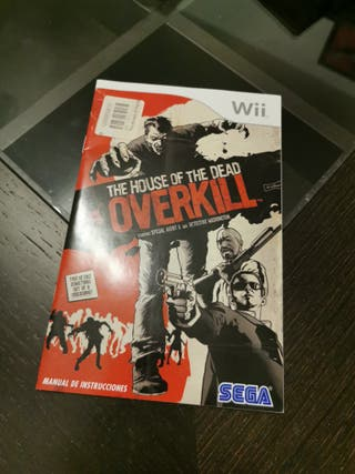 Manual The House of the dead overkill Wii