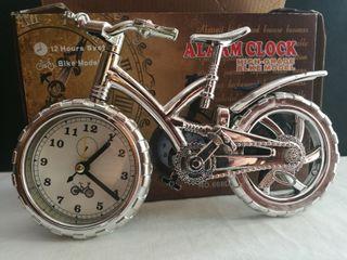 Bicicleta Reloj Despertador. Con Caja.