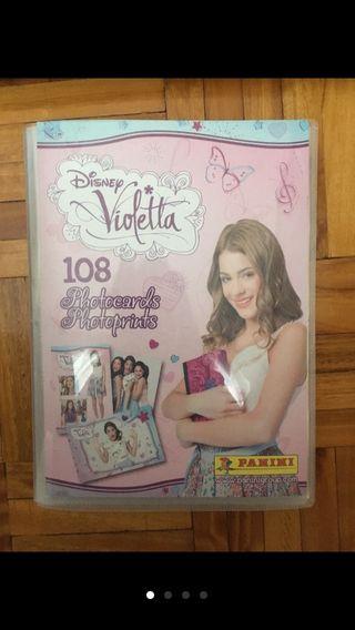 Álbum foto-postales Violeta