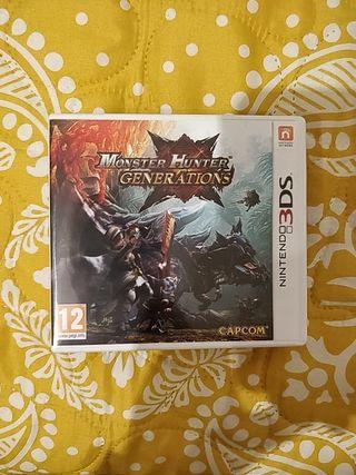 Monster Hunter Generation Nintendo 3ds