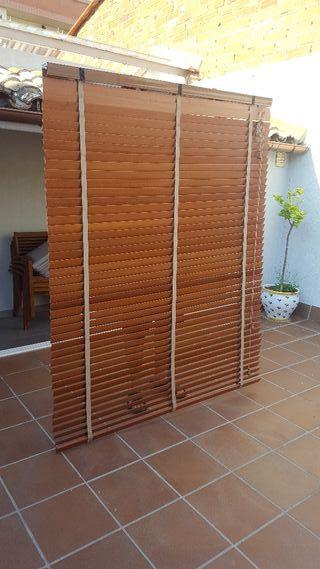 Persiana madera de alta calidad