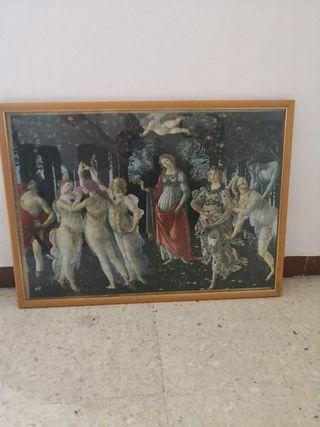 Cuadro puzzle Botticelli