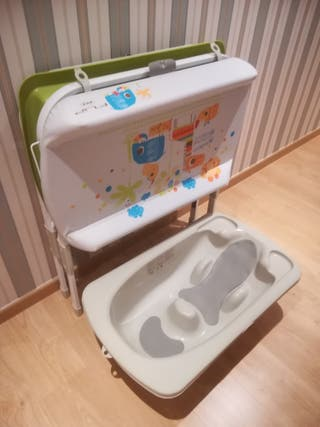 Bañera cambiador de bebe Jane