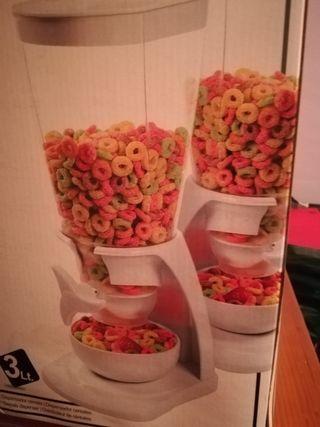 dispensador de cereales nuevo