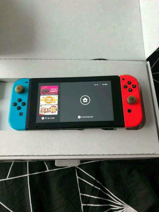 switch + jeux