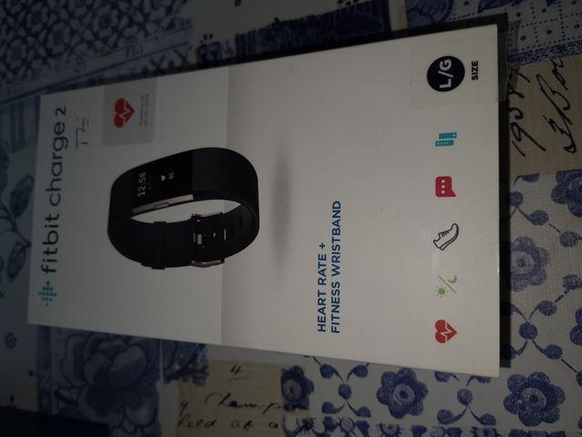 Fitbit charge 2 reloj actividad y salud
