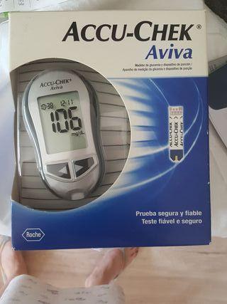 Glucómetro, medidor glucosa