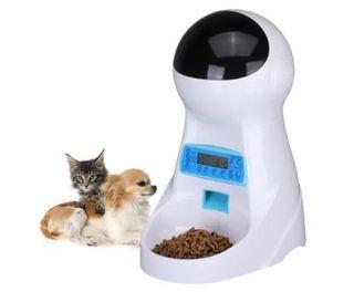 comedero automático para gato y perro
