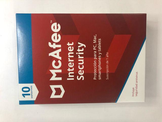 Antivirus McAfee 2019-20
