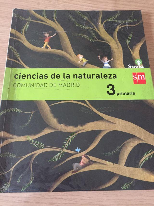 Ciencias de la naturaleza SM de tercero