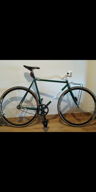 Bicicleta de pista fixie