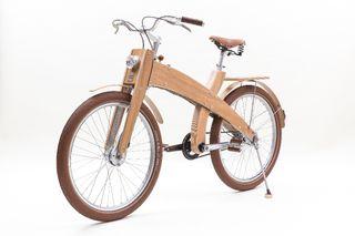 Bicicleta de Colección. Numerada. Madera. MUD
