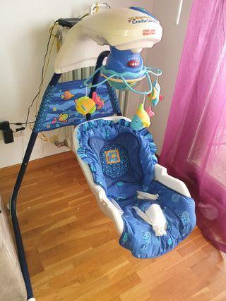 Columpio aquarium para bebes