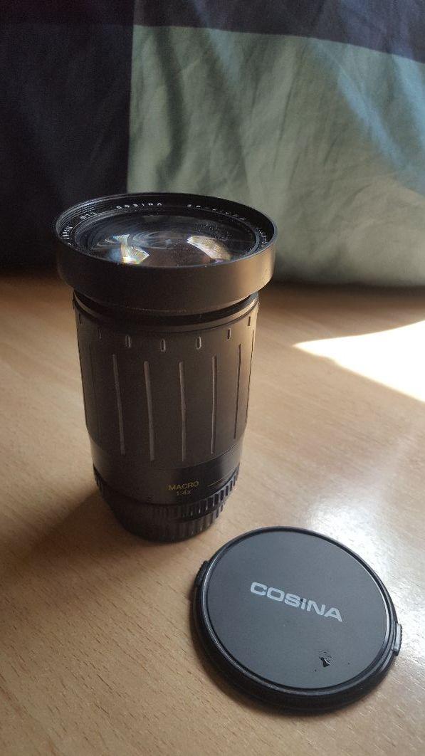 Objetivo cámara analógica