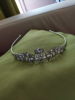 Tiara acero inoxidable