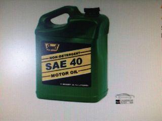 Aceite tractor y furgon pesados sae40