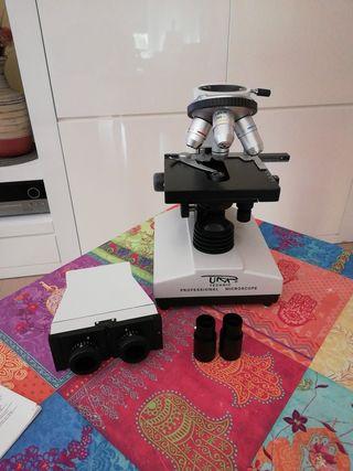 Microscopio profesional