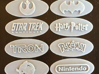 Placas con logo