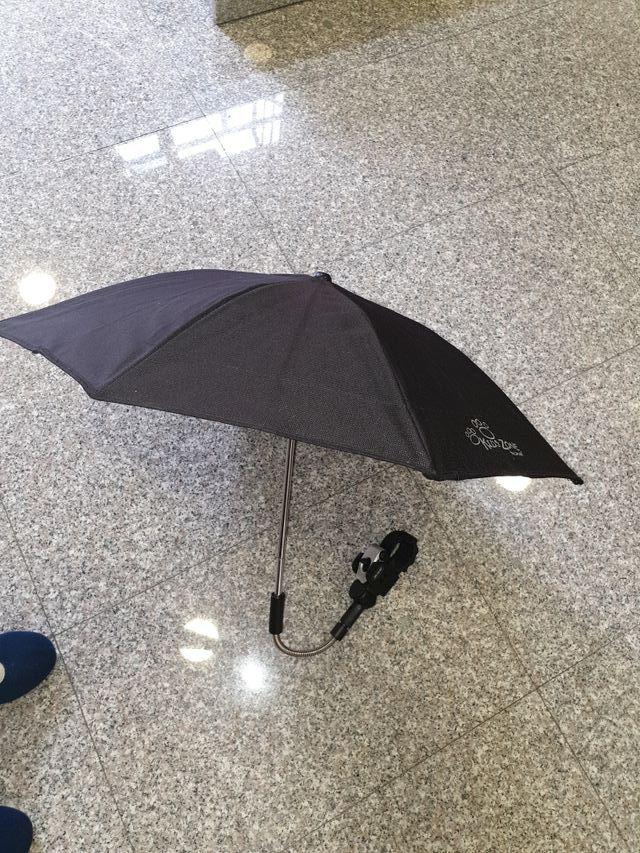 Parasol sombrilla anti-UVA para carrito de bebé