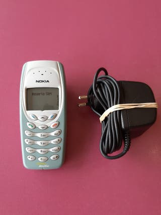 telefono movil antiguo nokia 3410
