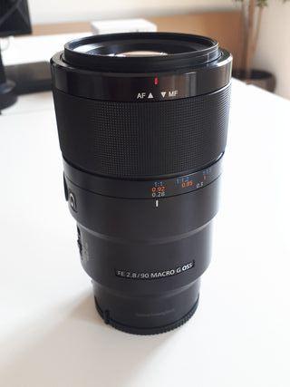 Objetivo Sony G 90mm 2.8 macro estabilizado
