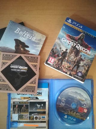 Vídeojuego Ghost Recon Wildland deluxe edition