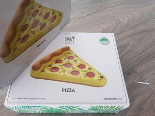 flotador pizza a estrenar. 180x159x18