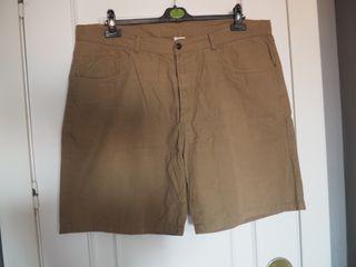 Bermudas hombre color verde Talla 54