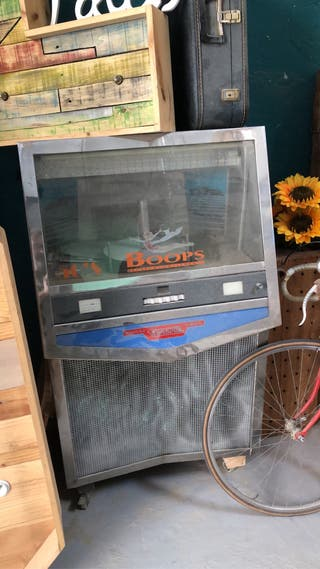 Máquina de discos antigua