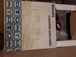 Auto radio cassete Philips , nuevo