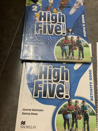 Libros Ingles 2 primaria- high five- macmillan